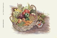 Vegetable Basket Fine Art Print