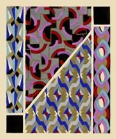 Art Deco Designs II Fine Art Print