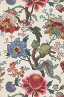 Vintage Jacobean Floral I Framed Print