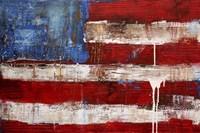 Ashley American Flag Fine Art Print