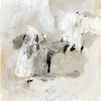 Neutral Brushstrokes II Fine Art Print