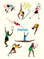 Olympians I Fine Art Print