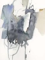 Indigo Splatter I Fine Art Print