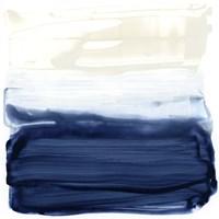 Ocean Brushstrokes I Framed Print