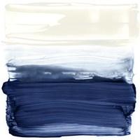 Ocean Brushstrokes II Framed Print