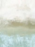 Soft Sea Green Composition I Framed Print