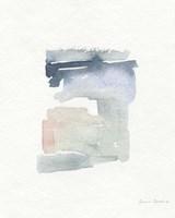Sea Glass Color Studies I Framed Print