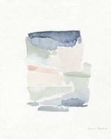 Sea Glass Color Studies III Framed Print