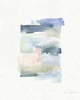 Sea Glass Color Studies IV Framed Print
