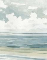Soft Pastel Seascape II Fine Art Print
