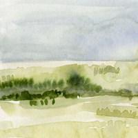 Tempered Horizon I Framed Print