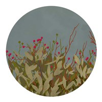 Winterberry Bush II Framed Print