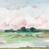 Pink Marsh I Fine Art Print