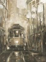 Night Trolley II Framed Print