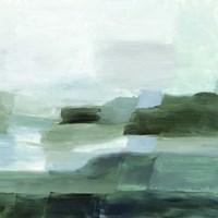 Verte Horizon I Framed Print