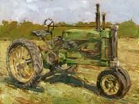 Rustic Tractors I Framed Print
