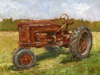 Rustic Tractors II Framed Print