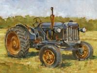 Rustic Tractors III Framed Print