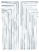 Divisions I Framed Print
