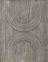 Cedar Grooves II Framed Print