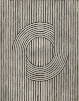 Cedar Grooves III Framed Print