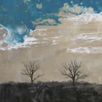 Two Trees II Framed Print