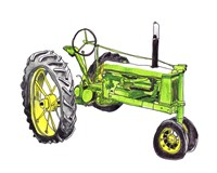 Tractor Study I Framed Print