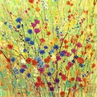 Wildflower Patch I Framed Print