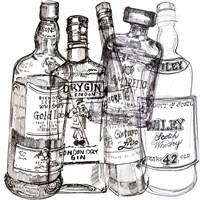 Whiskey Wednesdays I Framed Print