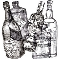 Whiskey Wednesdays II Fine Art Print