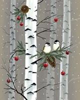 Birch Birds I Framed Print