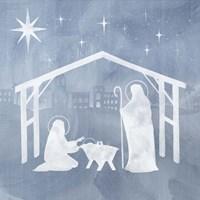 Star of Bethlehem I Framed Print