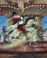 Merry Go Round Fine Art Print