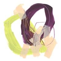Convex Motion III Framed Print