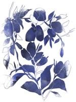 Indigo Branch I Framed Print