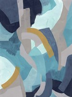 Puzzle Blues II Framed Print