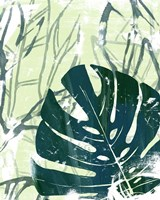 Palm Pastiche I Framed Print