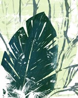 Palm Pastiche IV Framed Print