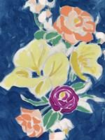 Paintbox Floral II Framed Print