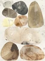 Stone Mosaic I Framed Print