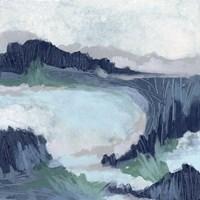 Blue Marsh Grove II Framed Print