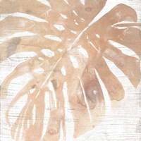 Neutral Palm Fossil I Framed Print