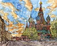 Russia Temple I Fine Art Print