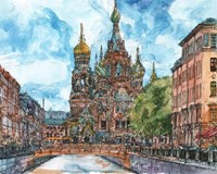 Russia Temple II Fine Art Print
