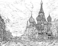 Russia in Black & White I Fine Art Print