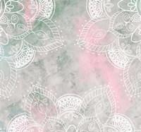 Daylight Mandala I Framed Print