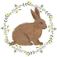 Happy Bunny Day III Framed Print