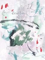 Rouge Splash I Framed Print