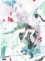 Rouge Splash IV Framed Print