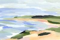 Pastel Coastline I Fine Art Print